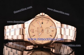 Corum TriCOR080 Admiral's Cup Pink Dial Rose Gold Watch