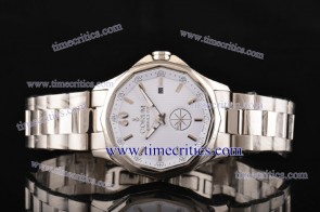 Corum TriCOR082 Admiral's Cup White Dial Steel Watch