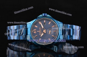 Corum TriCOR084 Admiral's Cup Blue Dial PVD Watch