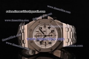 Audemars Piguet TriAP053 Royal Oak Offshore White Dial Steel Watch