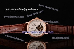 Breguet TriBRES055 Classique Complication White Dial Rose Gold Watch 1:1 Original