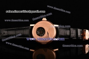 Breguet TriBRES054 Classique Complications Sliver Dial Rose Gold Watch