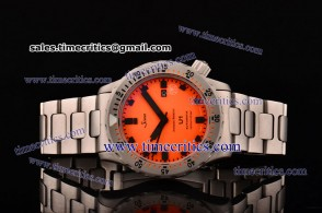 Sinn Tri0807016 U1 Juwelier Roberto Orange Steel Watch