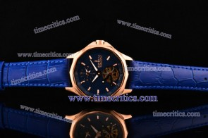 Corum TriCOR078 Admirals Cup Blue Dial Rose Gold Watch