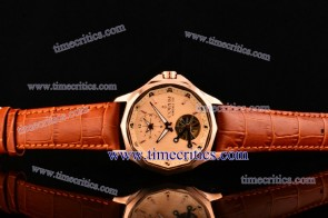 Corum TriCOR079 Admirals Cup Rose Gold Dial Rose Gold Watch