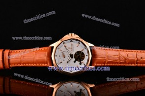 Corum TriCOR080 Admirals Cup White Dial Rose Gold Watch