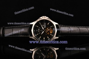 Corum TriCOR081 Admirals Cup Black Dial Steel Watch