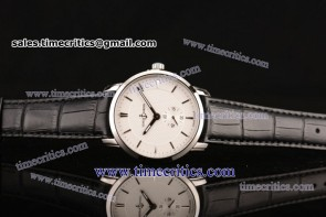 Ulysse Nardin TriUN194 Classico White Dial Steel Watch
