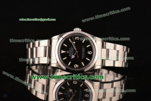 Rolex TriROL88032 Exporer Vintage Black Dial Steel Watch