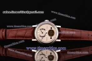 Breguet TriBRT66011 Grandes Complications White Dial Steel Watch