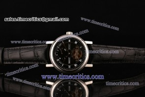 Breguet TriBRT66012 Grandes Complications Black Dial Steel Watch