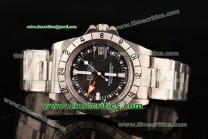 Rolex TriROX99008 Explorer II Vintage Black Dial Steel Watch