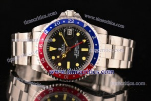 Rolex TriROX99001 GMT-Master Vintage Black Dial Steel Watch