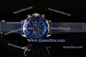Omega TriOGA99003 Seamaster Diver 300M Chrono Blue Dial Steel Watch