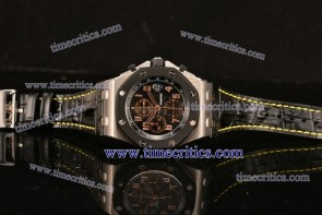 Audemars Piguet TriAP99037 Royal Oak Offshore 57th Street Black Grid Dial Titanium Watch 1:1 Original (NOOB)