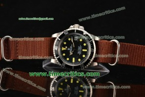 Rolex TriROX89050 Sea-Dweller Black Dial Yellow Markers Steel Watch