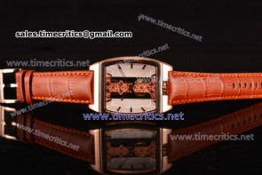 Corum TriCM89022 Golden Bridge White Dial Rose Gold Watch