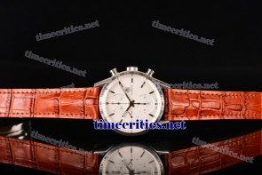 Tag Heuer TriTAG89033 Carrera Calibre 1887 Automatic Chronograph White Dial Steel Watch