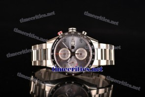 Tag Heuer TriTAG89035 Carrera Calibre 1887 Automatic Chronograph Grey Dial Full Steel Watch