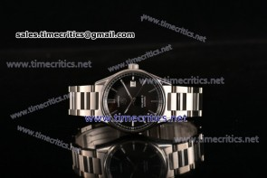Tag Heuer TriTAG89047 Carrera Calibre 5 Automatic Black Dial Full Steel Watch