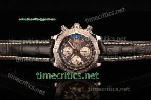 Breitling TriBRL89082 Chronomat Evolution Chronograph Grey Dial Steel Watch (BP)