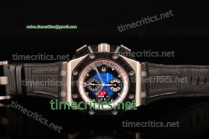 Audemars Piguet TriAP89231 Royal Oak Offshore Grand Prix (Real Forge Carbon Parts) Chrono Blue Dial Steel Watch 1:1 Original (JF)