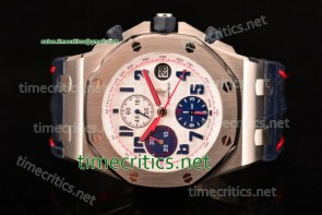 Audemars Piguet TriAP89246 Royal Oak Offshore Tour Auto 2012 JF Best Edition Chrono White Dial Steel Watch (JF)