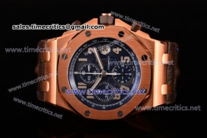 Audemars Piguet TriAP89249 Royal Oak Offshore Pride of Argentina Chronograph Blue Dial Rose Gold Watch 1:1 Original (J12)