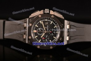 Audemars Piguet TriAP89273 Royal Oak Offshore Chrono Black Dial Carbon Fiber Watch 1:1 Original (Z)