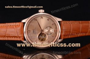 IWC TriIWC89216 Portugueser Tourbillon Rose Gold Dial Rose Gold Watch