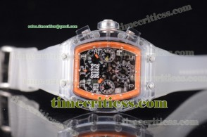 Richard Mille TriRM99130 RM 011 Felipe Massa Flyback Chrono Skeleton Dial Sapphire Crystal Watch