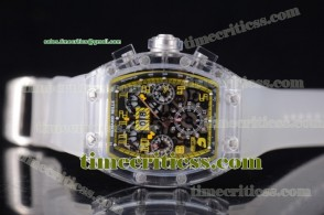 Richard Mille TriRM99131 RM 011 Felipe Massa Flyback Chrono Skeleton Dial Sapphire Crystal Watch