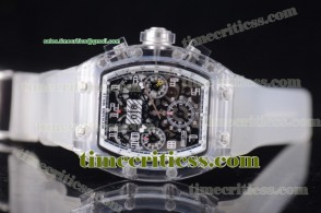 Richard Mille TriRM99133 RM 011 Felipe Massa Flyback Chrono Skeleton Dial Sapphire Crystal Watch