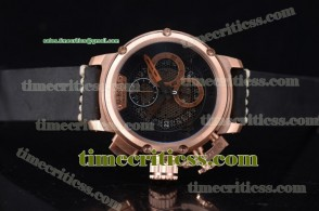 U-Boat TriUB99035 Chimera Skeleton Chrono Skeleton Dial Rose Gold Watch