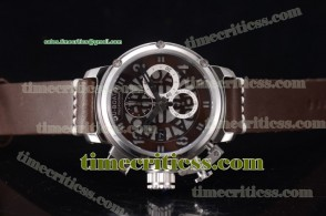 U-Boat TriUB99040 Chimera Skeleton Chrono Skeleton Dial Steel Watch