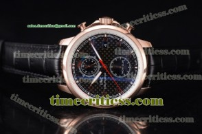 IWC TriIWC89160 Portugieser Yacht Club Black Dial Rose Gold Watch