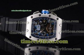 Richard Mille TriRM99142 RM011-FM Skeleton Dial Steel Watch