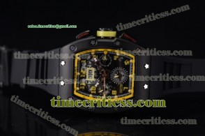 Richard Mille TriRM99143 RM011-FM Skeleton Dial PVD Watch