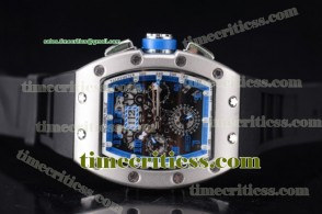 Richard Mille TriRM99144 RM011-FM Skeleton Dial Steel Watch