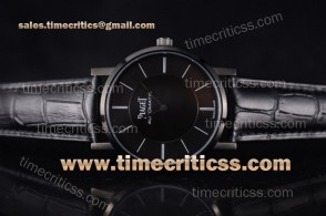 Piaget TriPIA99062 Altiplano Black Dial PVD Watch (YF)
