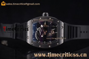 Richard Mille TriRM99171 RM 52-02 Skeleton Dial PVD Watch