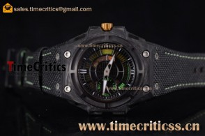 Linde Werdelin TriLW99011 Spidolite II Tech Green Skeleton Dial Forge Carbon Watch