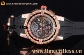 Richard Mille TriRM99173 RM60-01 Skeleton Dial Rose Gold Watch