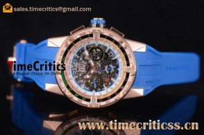 Richard Mille TriRM99174 RM60-01 Skeleton Dial Rose Gold Watch