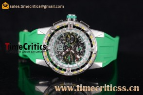 Richard Mille TriRM99175 RM60-01 Skeleton Dial Steel Watch
