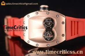 Richard Mille TriRM99179 RM053 Skeleton Dial Rose Gold Watch