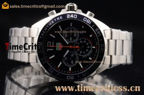 Tag Heuer TriTAG89177 Formula 1 Chronograph Black Dial Steel Watch