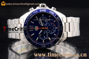 Tag Heuer TriTAG89178 Formula 1 Chronograph Blue Dial Steel Watch