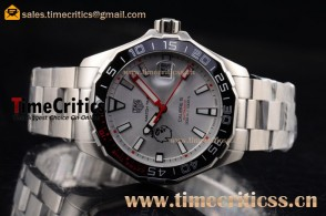 Tag Heuer TriTAG89181 Aquaracer Calibre 5 Match Timer Premier League Special Edition Grey Dial Steel Watch
