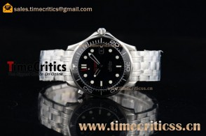 Omega TriOMG291338 Seamaster Diver 300 M Black Dial Ceramic Bezel Full Steel Watch